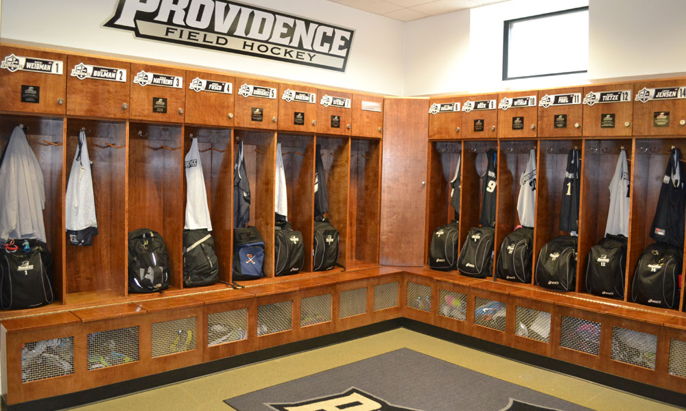 Field Hockey Locker Room