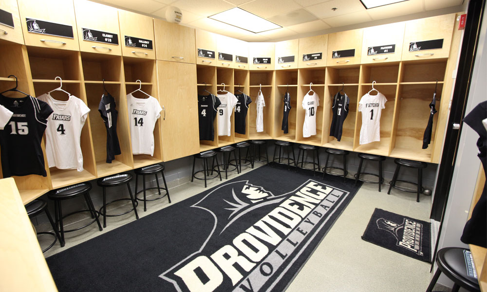 Volleyball Locker Room