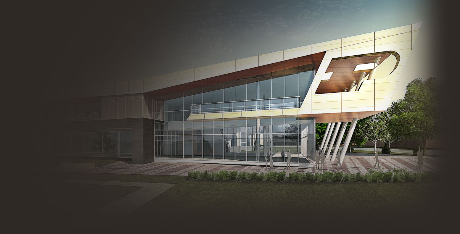 Purdue football master plan for Performance house