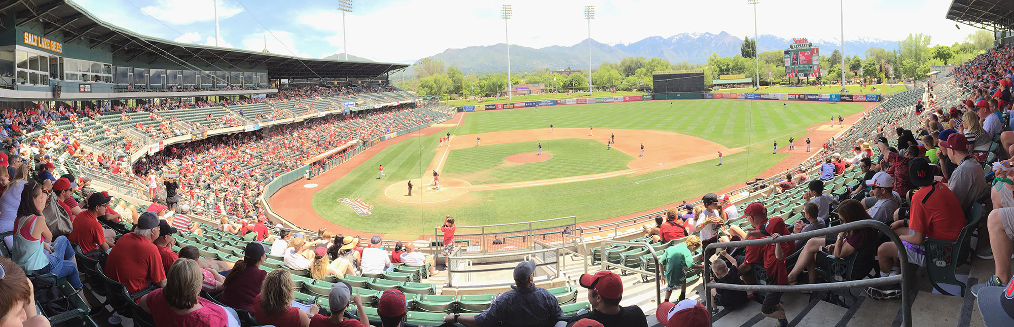 Smith's Ballpark Panorama