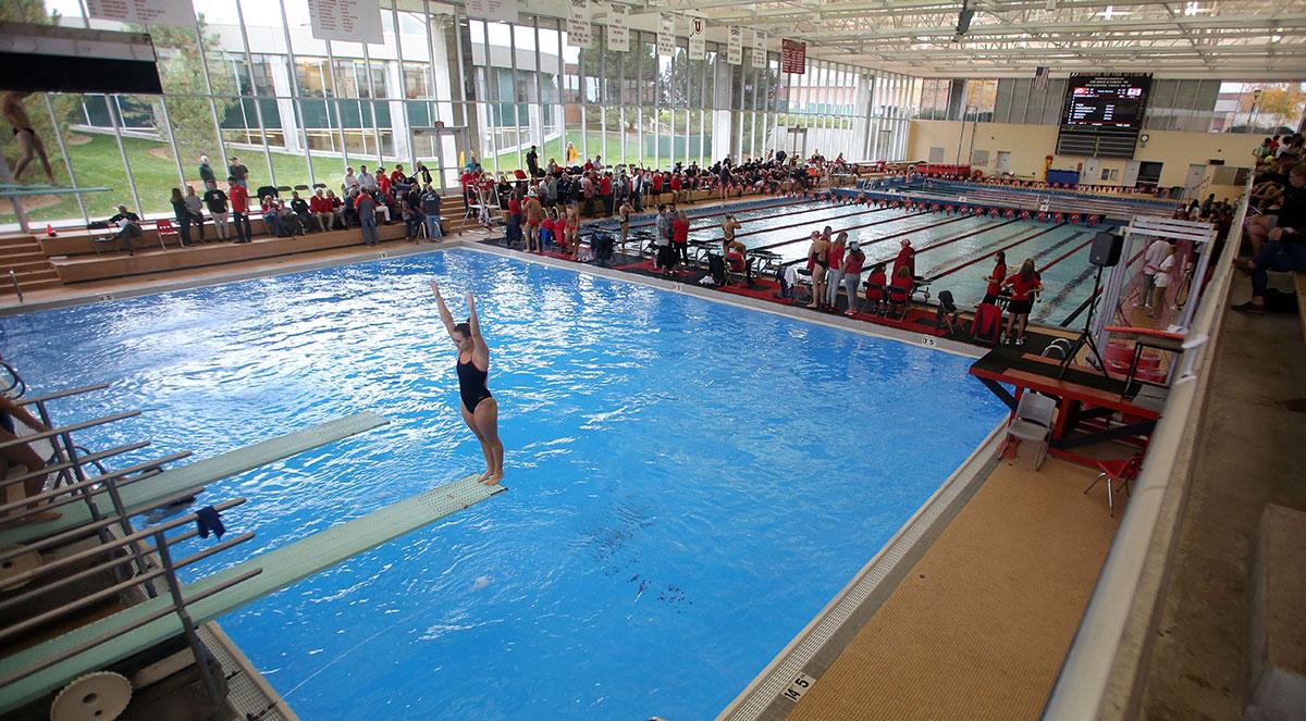Utah Athletics Swimming Diving