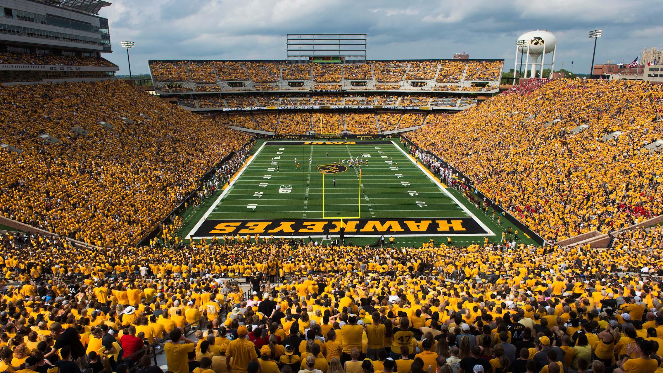 Iowa Kinnick Stadium Renovations American Football Field Diagram Previous Next