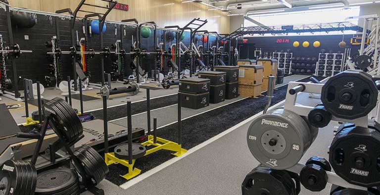 Ruane Development Center Weight Room