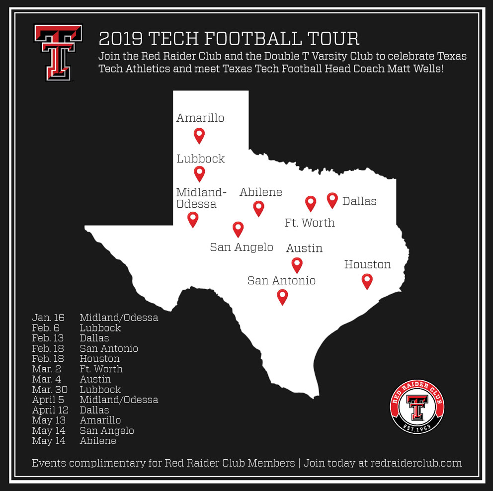 2019 TTU Football Tour