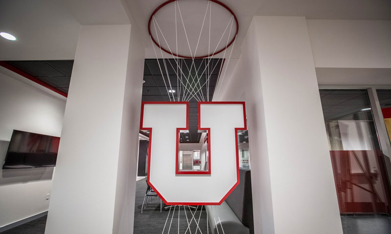 Utah Men's Basketball   Jon M  and Karen Huntsman Basketball