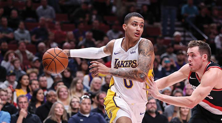 36c6fa19e Kyle Kuzma – L.A. Lakers